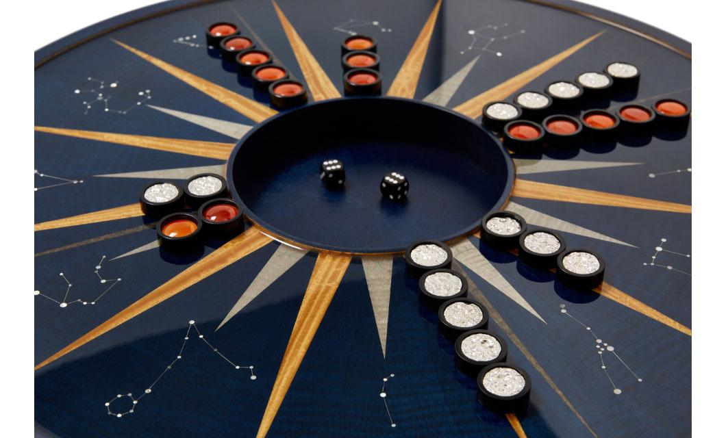 backgammon set antique alexandra llewellyn london
