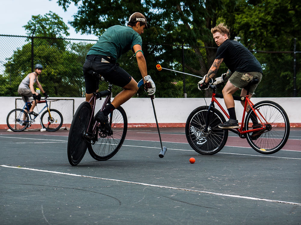 bike polo , polo in Bicycle