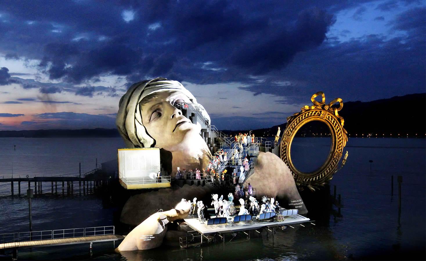 the Bregenzer Festspiele