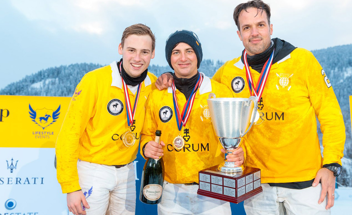 snow polo world cup, polo in snow, Bendura bank team , corum