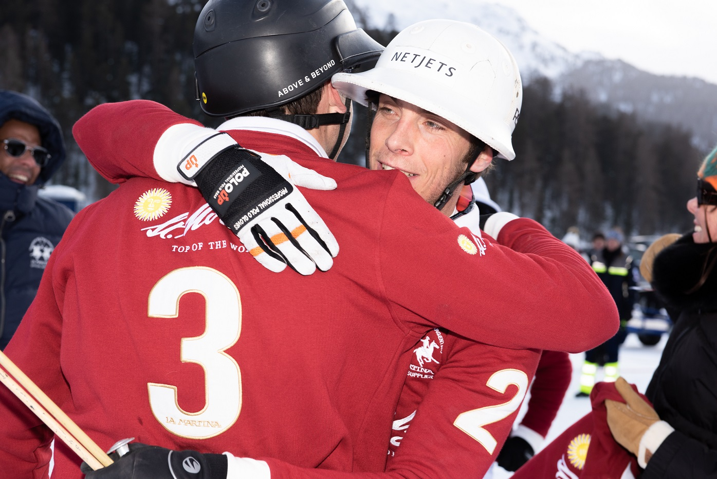 The Finals Of The 36th Snow Polo World Cup St. Moritz