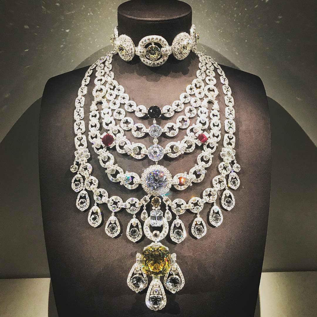 de beers diamond the patiala necklace