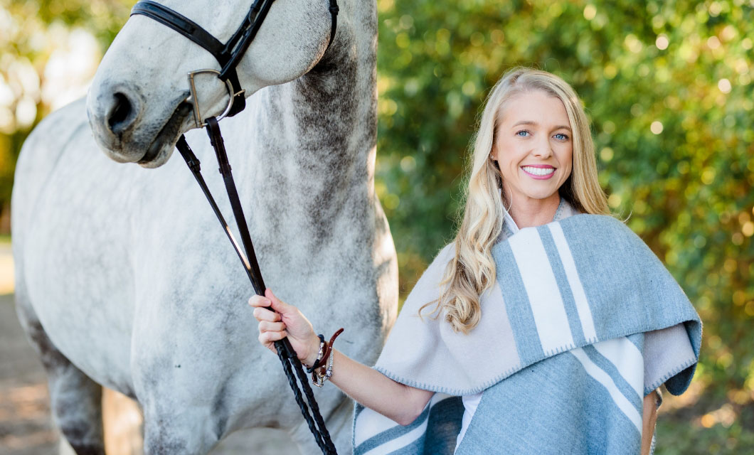 Ashley Cline, an Equine Stylist in conversation with LA POLO