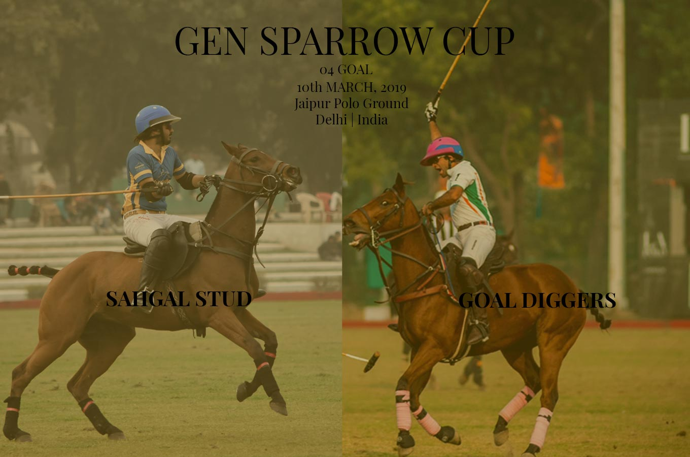 the finals of Gen Sparrow Cup 2019