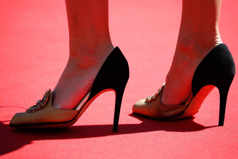 heels on cannes flim festival 2019