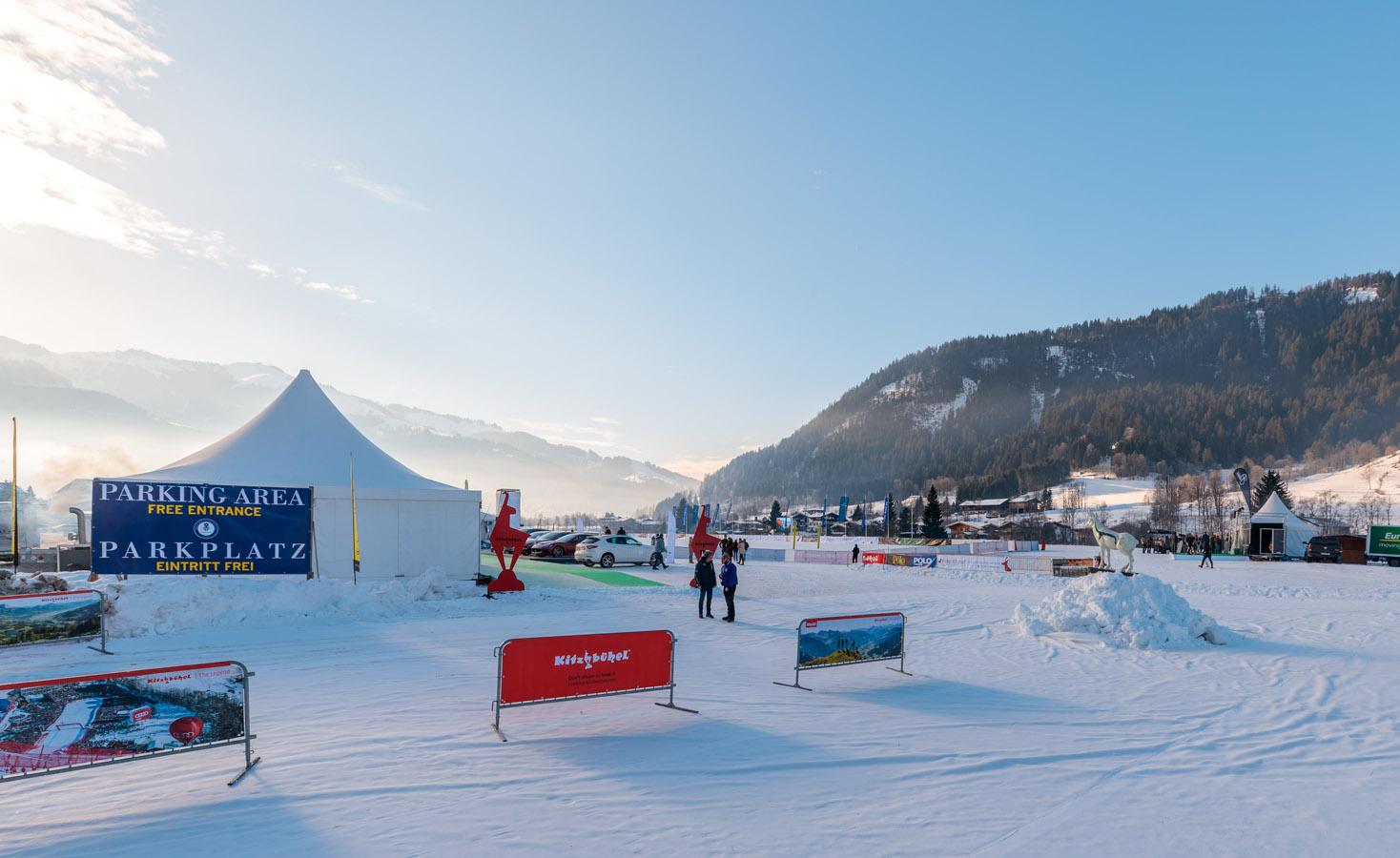 snow polo at  Kitzbuhel