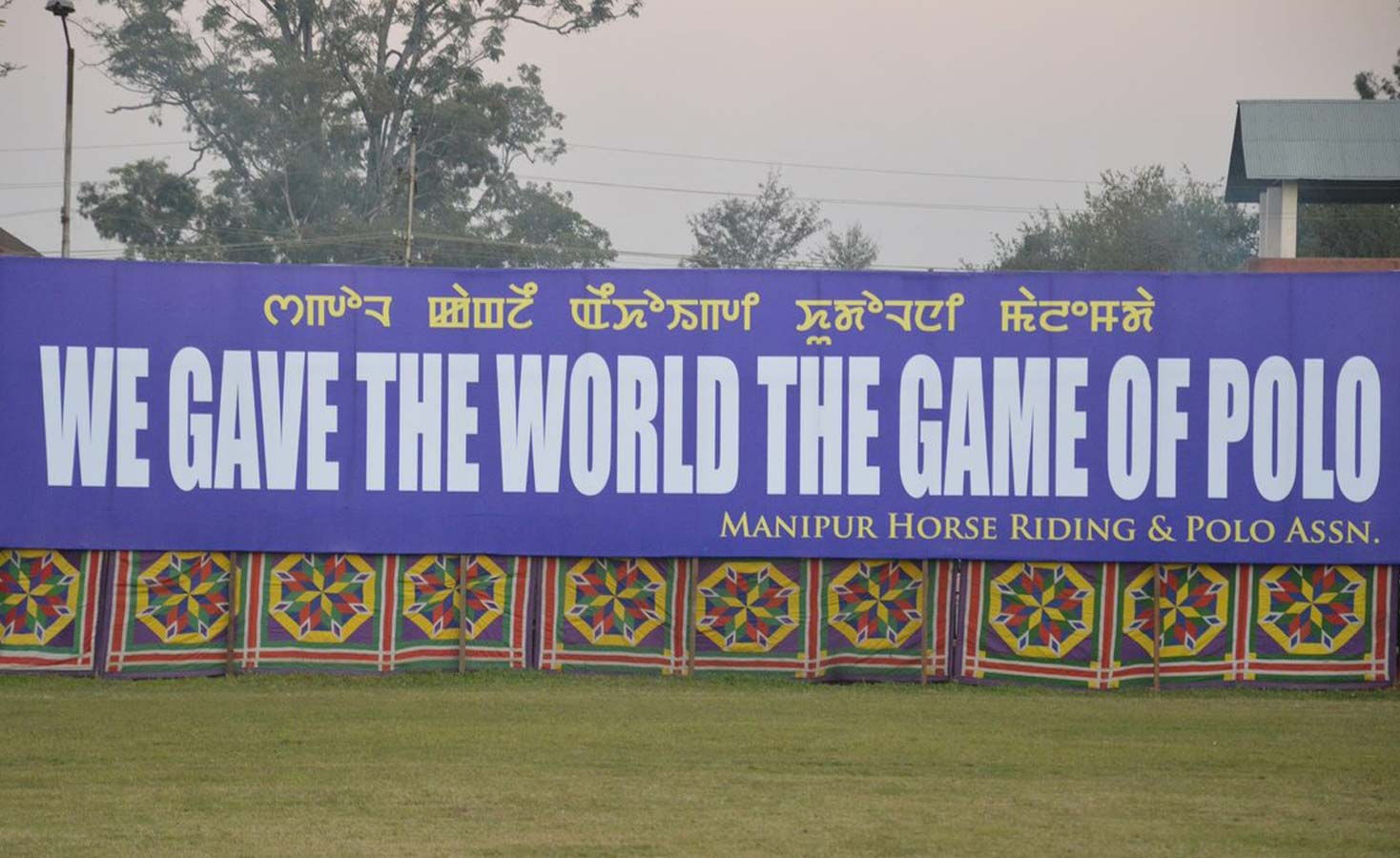 history of polo in Manipur