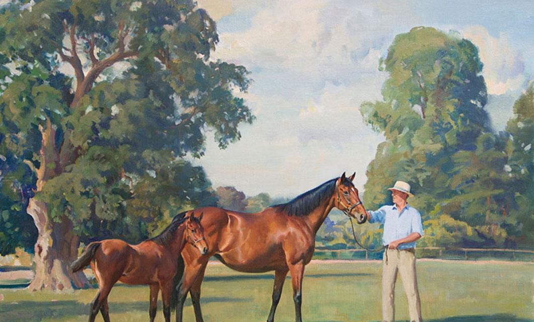 horse-paintings-acrylic-la-polo