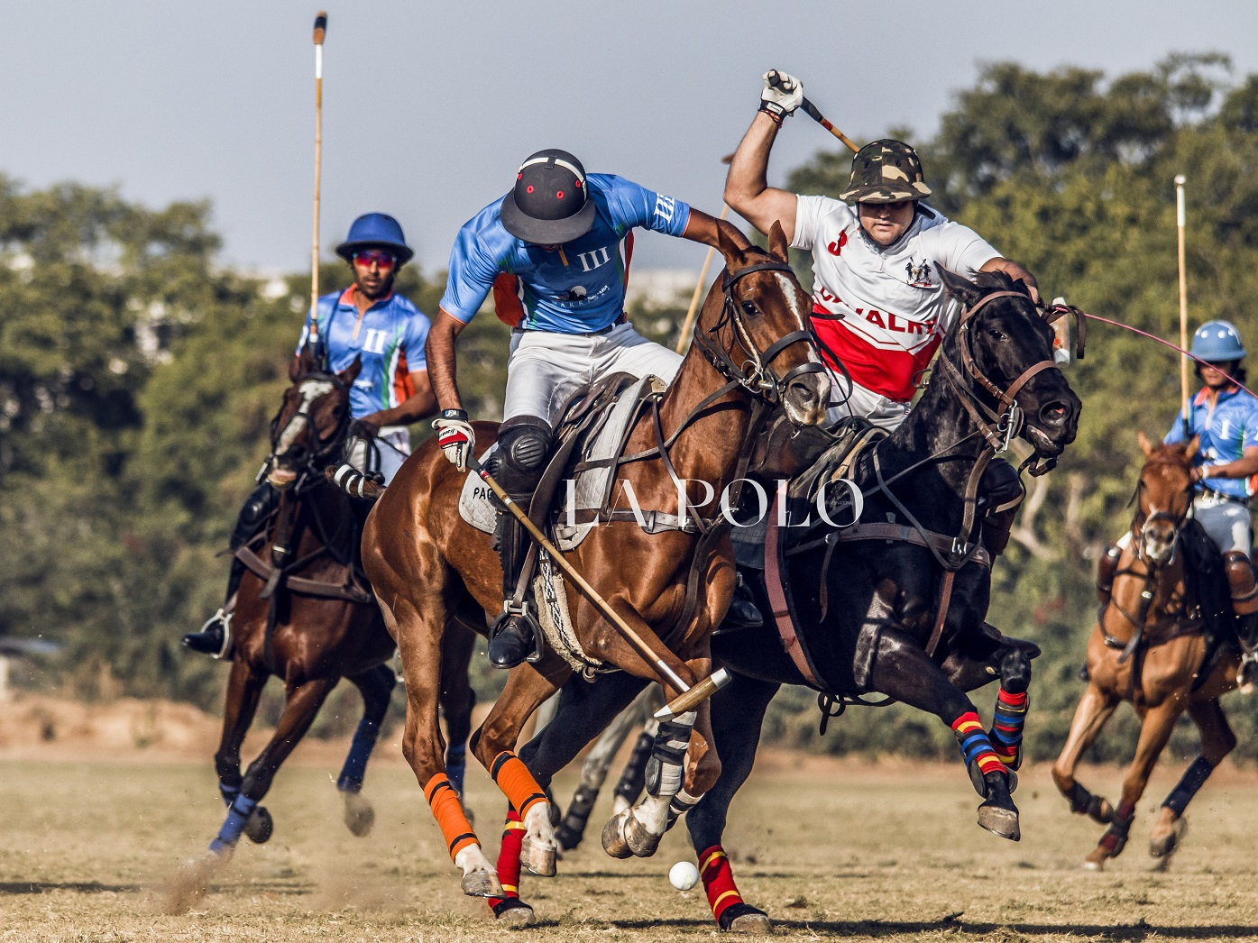 61 Cavalry and Sahara Warriors in the final battle of the Princess Diya Kumari Cup