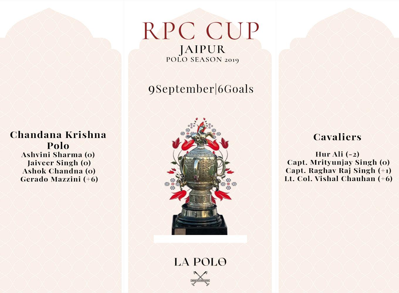 jaipur polo season RPC draw