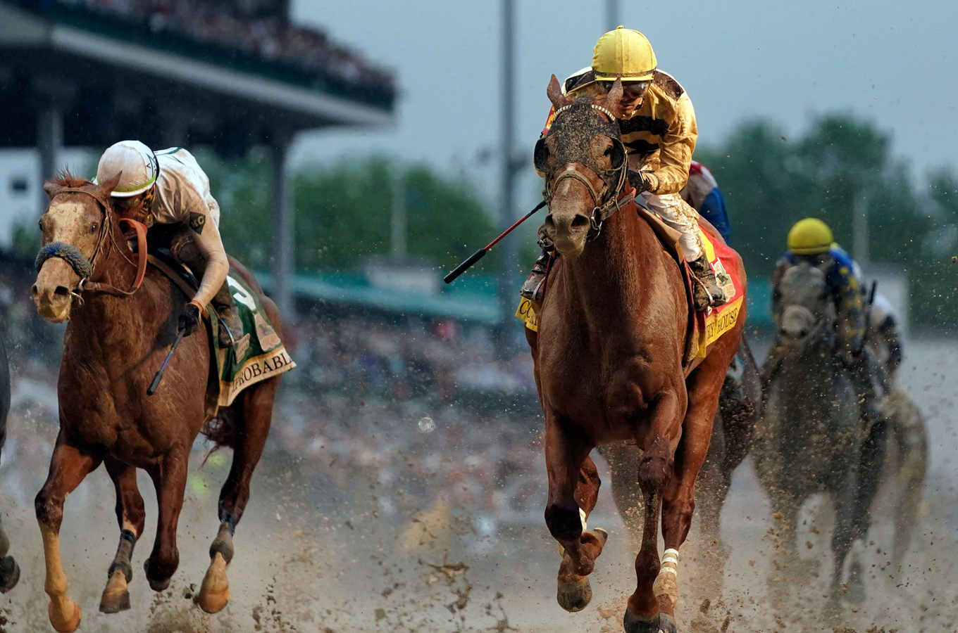 The Historic Affair of Disqualification at Kentucky Derby