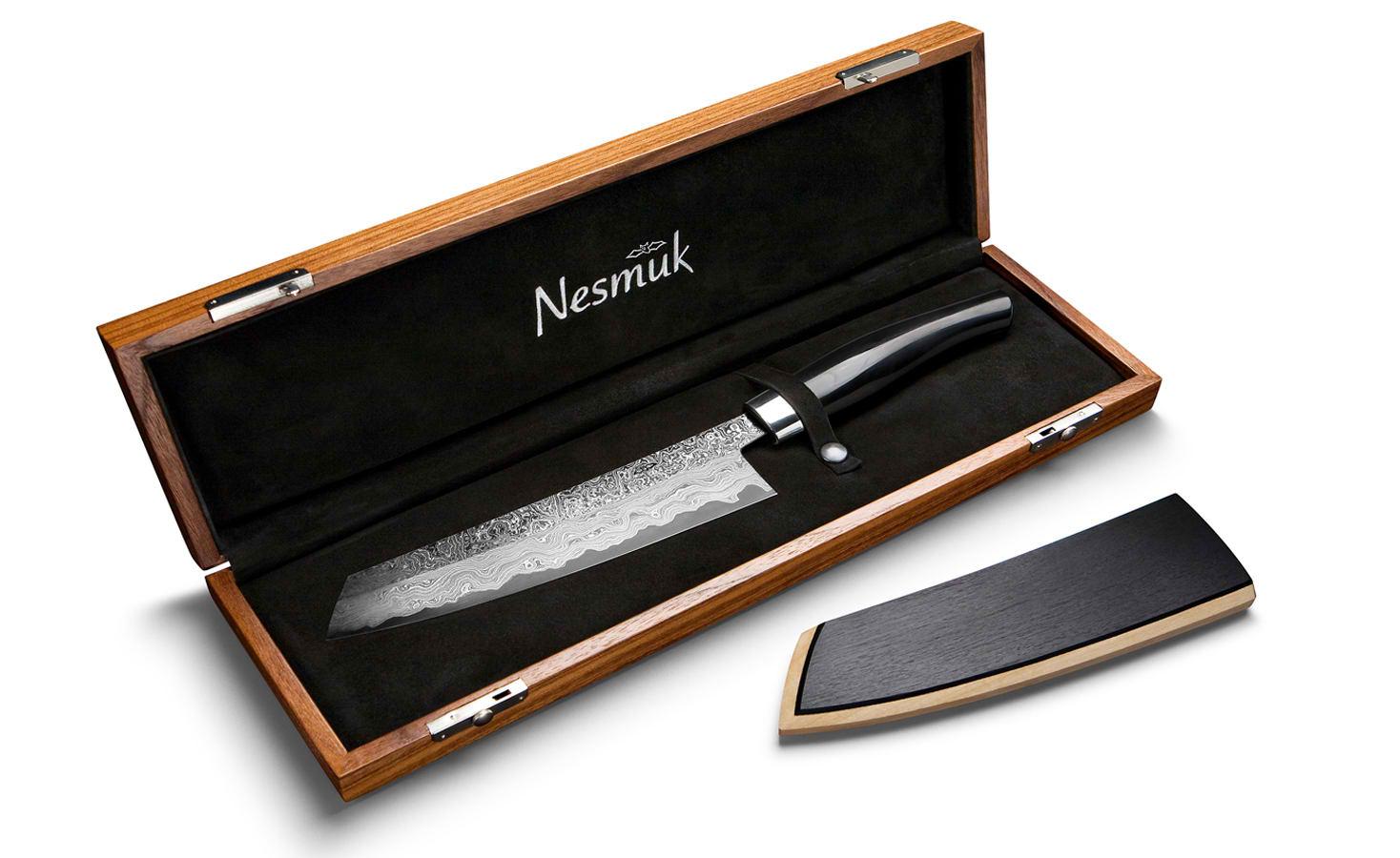 Nesmuk Diamond Studded Knife