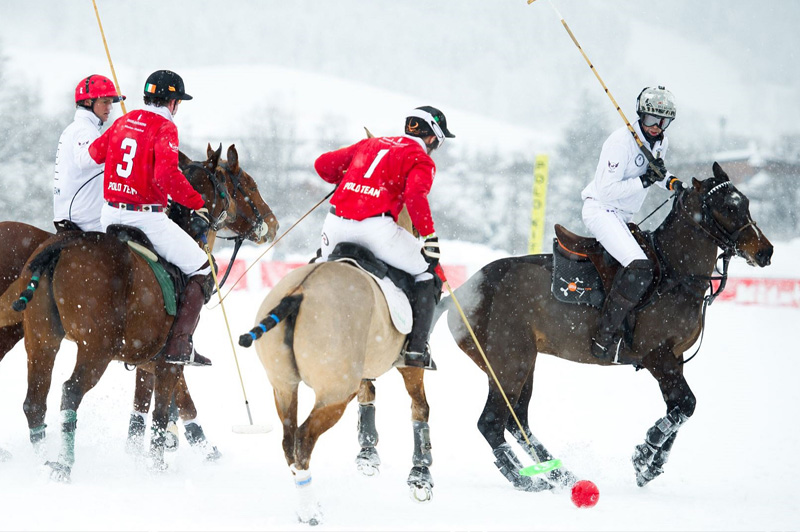 snow polo world cup, polo in snow, Kitzbuhel