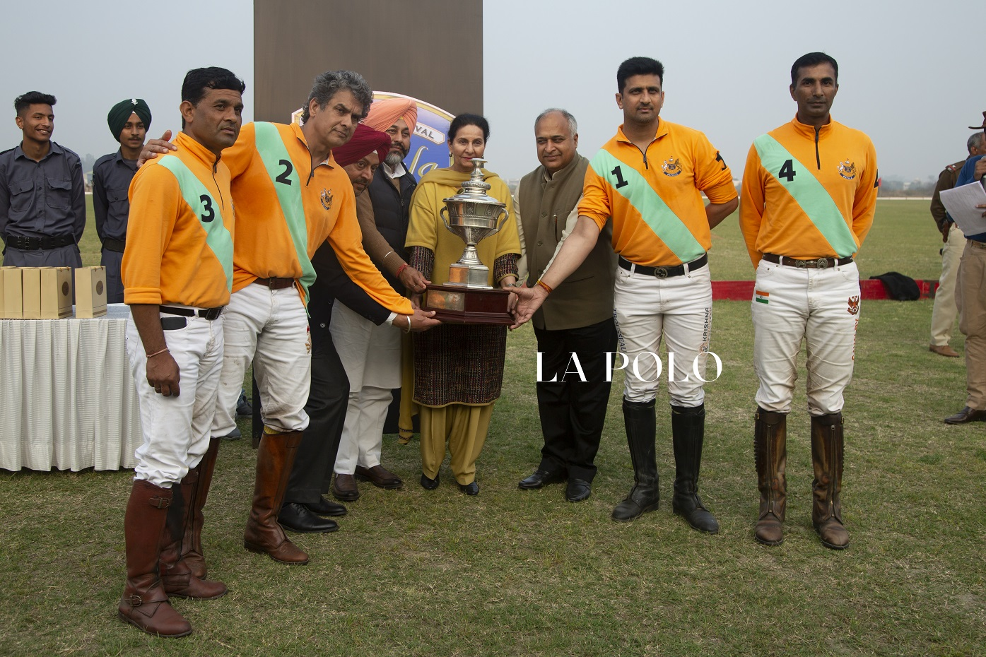 Team Bahadurgarh lifts the polo trophy- Patiala Polo Cup