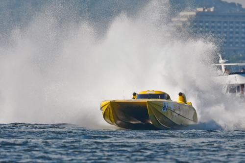 Powerboat Racing at Royal Victoria Dock