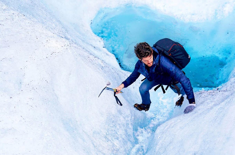 scandinavia qlacier climb