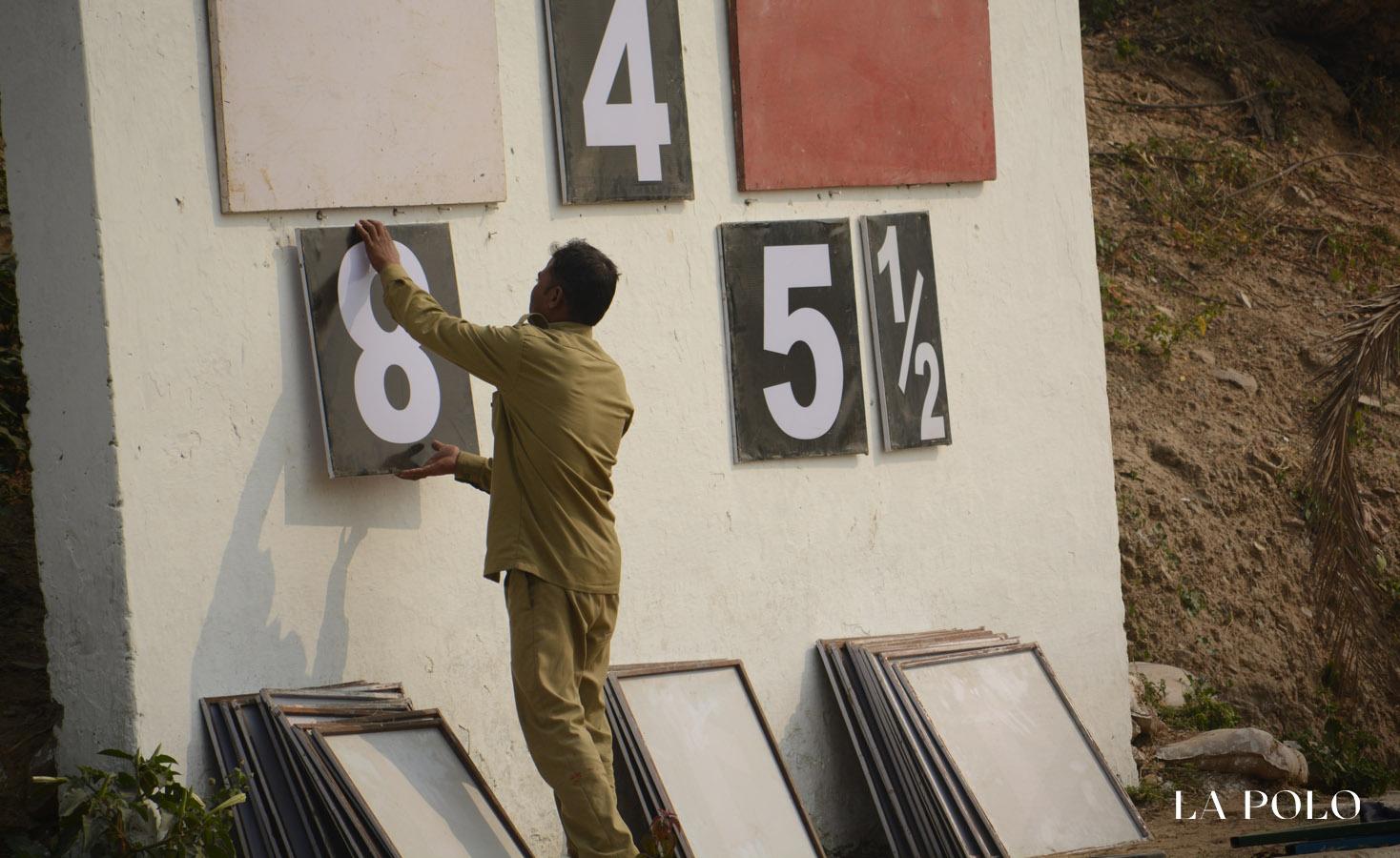 scoreboard in polo