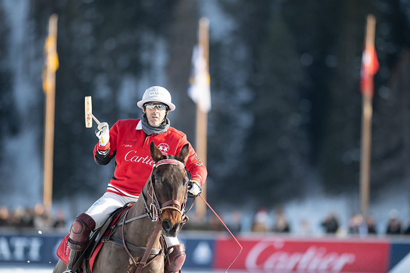second day of Snow Polo World Cup St. Moritz