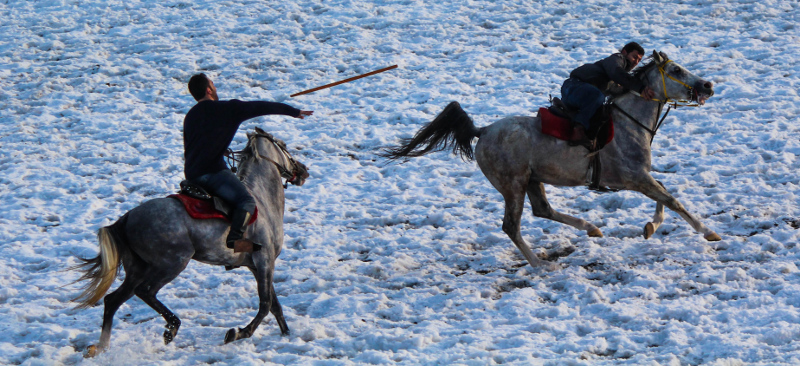 Middle Eastern variations of Polo | Jereed