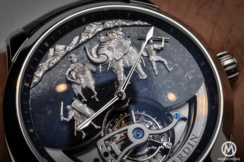 ULYSSE NARDIN HANNIBAL MINUTE REPEATER TOURBILLION