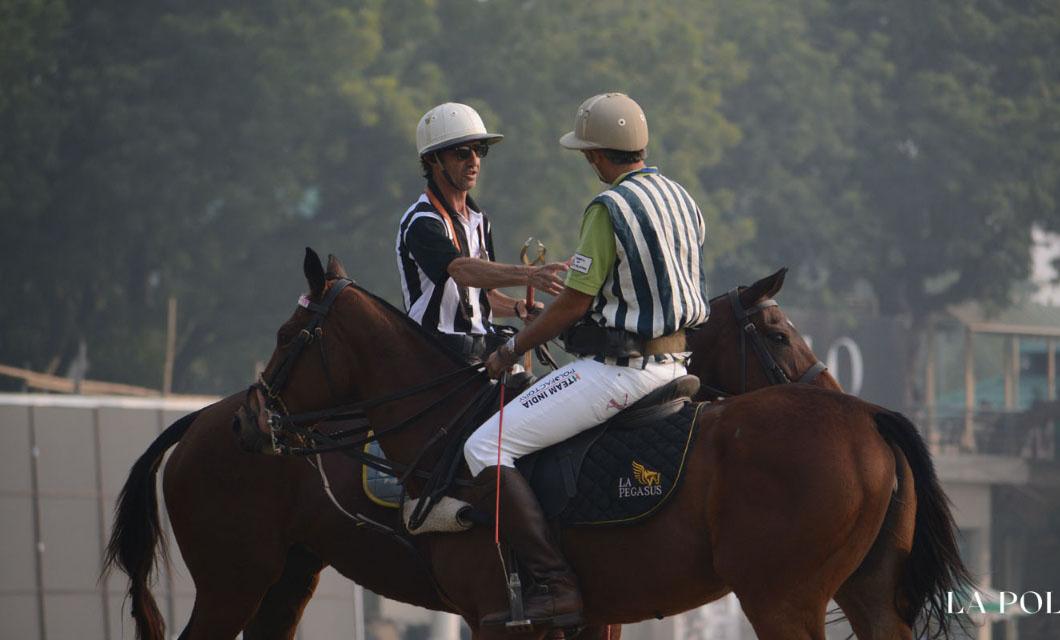 training a polo horse la polo