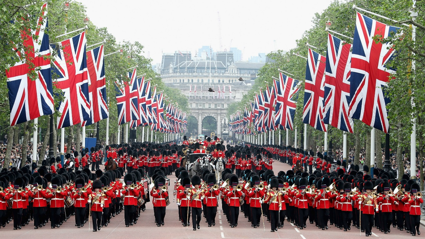 Trooping The Colour- Annual Queen's Birthday Parade
